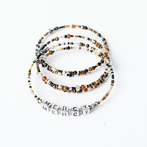 M.E.R.CY Stackable Bracelets