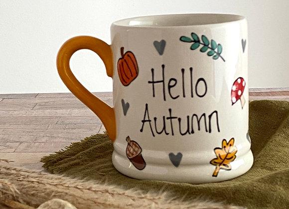 Adult Mug - Hello Autumn