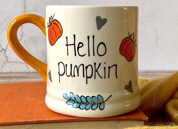 Hello Pumpkin Mug - Adult