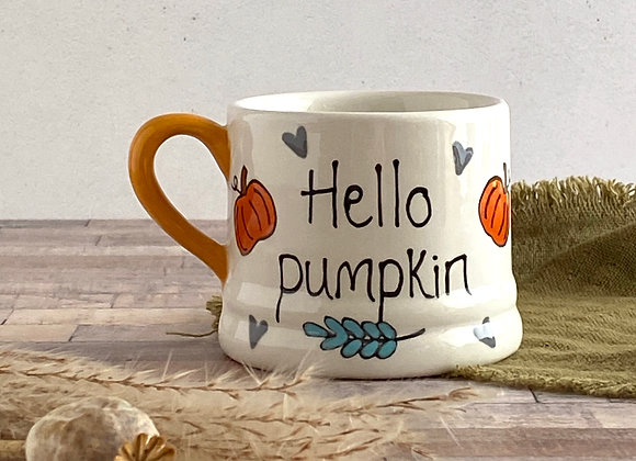 Hello Pumpkin Mug - Children