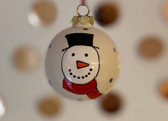 Snowman - Bauble