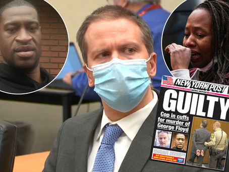 The Chauvin Verdict | My Thoughts about Pacification and Power