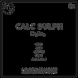 Calcium Sulphate ($14.95)