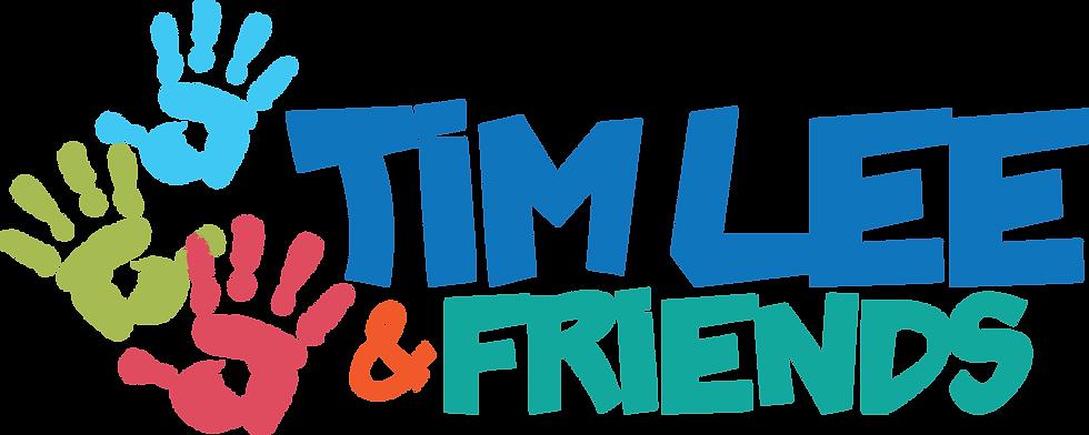 Tim Lee & Friends Kids Logo (Primary Lar