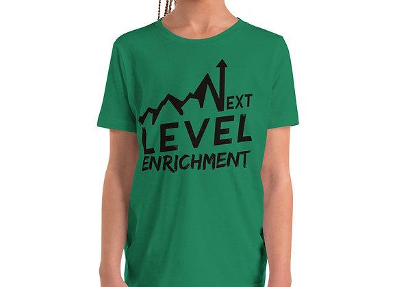 """Climbing Up!""   Youth Short Sleeve T-Shirt"