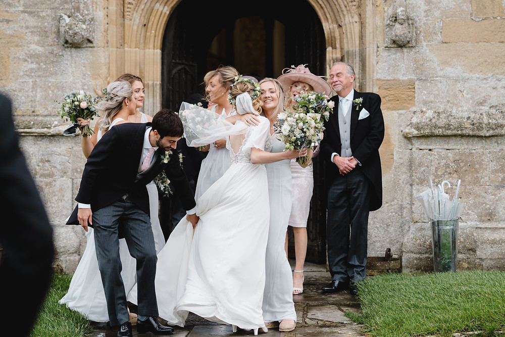 Church Wedding - Reportage Wedding Photographer Somerset. Professional Wedding Photographer Heather Bailey