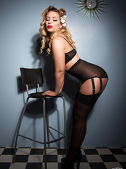 Pin up Model Heather Valentine