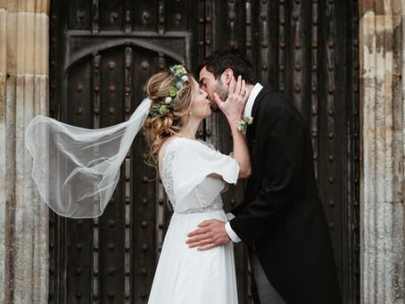 Danielle + Josh | Lockdown Wedding in Somerset