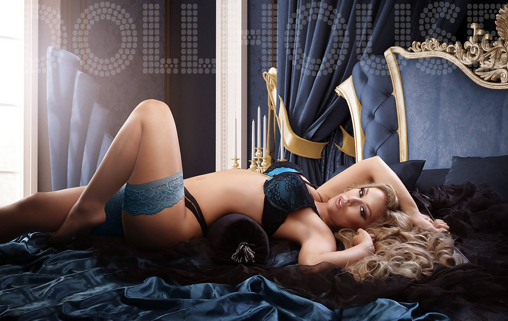 Heather Valentine Pinup by Dollhouse Photography | Boudoir Photography