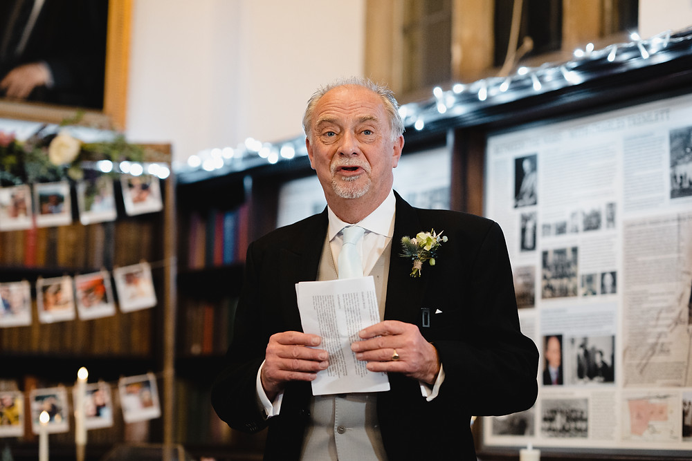 Wedding Speeches. Documentary Wedding Photographer Somerset. Professional Wedding Photography