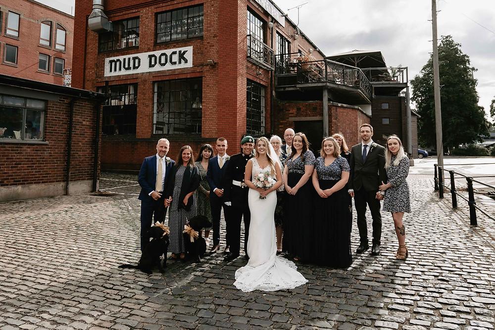 Bristol Wedding Photography. Wedding at the Mud Dock Cafe, Bristol