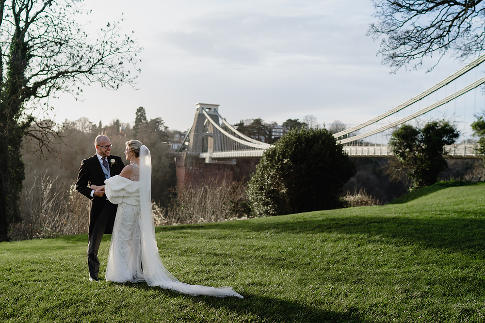Bristol Wedding Photographer. Couple Portraits at the Bristol Harbour and Harbourside