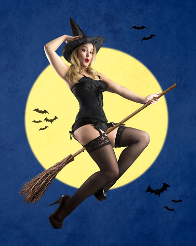 Bewitched Pinup FULL SET (7 images)