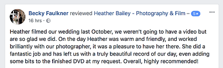 Recommended Wedding Photographer Bristol Somerset - Heather Bailey Photography and Film