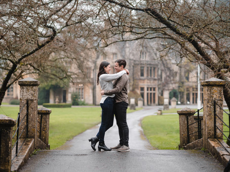 Karen + David | Engagement Photoshoot Castle Combe