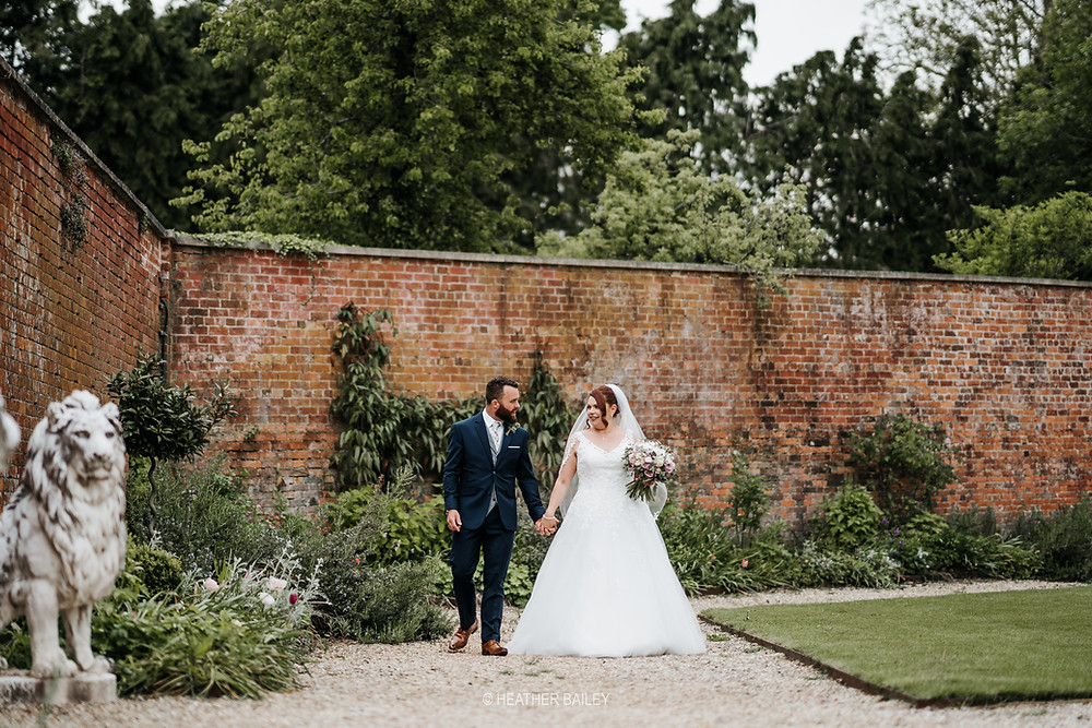 Wedding at Elmhay Park, the Walled Garden at Orchardleigh