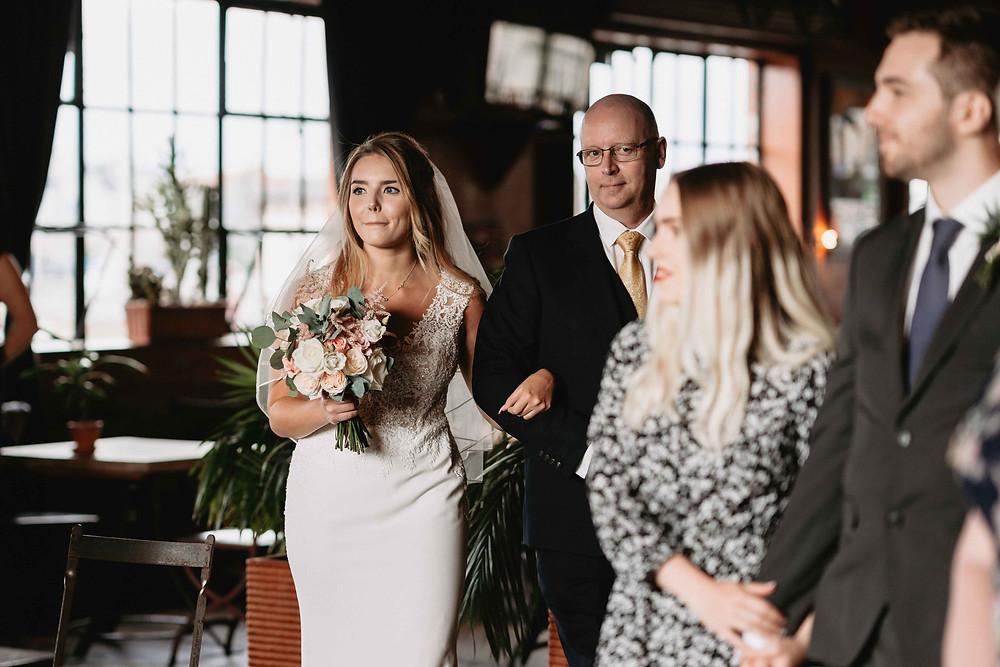 Wedding Photographer Bristol. Wedding at the Mud Dock Cafe, Bristol