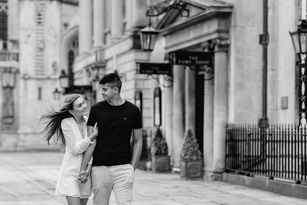 Pre-Wedding Photo Shoot in Bath City. Professional Wedding Photographer