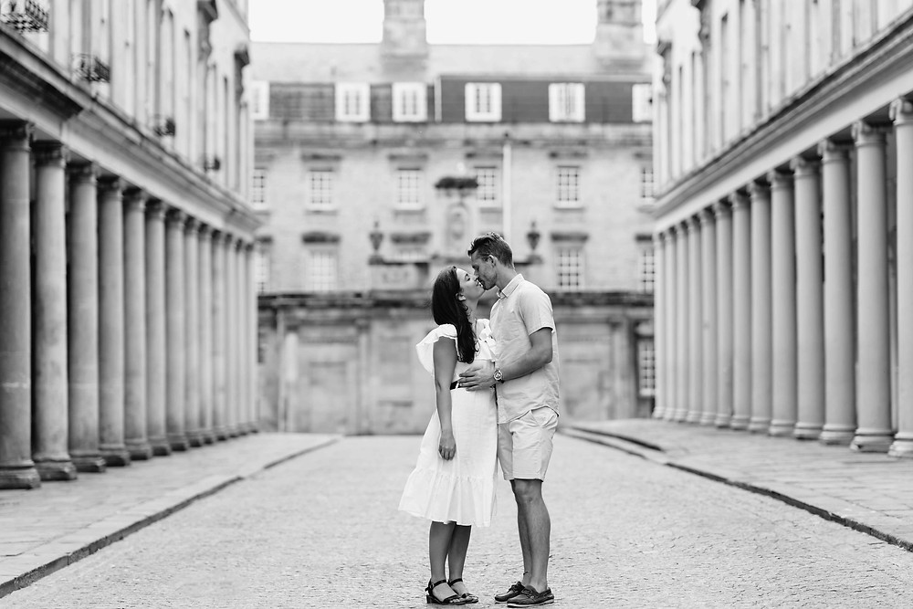 Wedding Couple Portrait Ideas. Engagement Photography Bath, Somerset. Photographer Heather Bailey