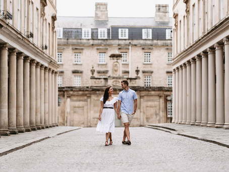 Lily + Ben | Engagement Photo  Shoot in Bath