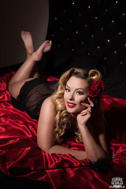 Modern Pinup Heather Valentine