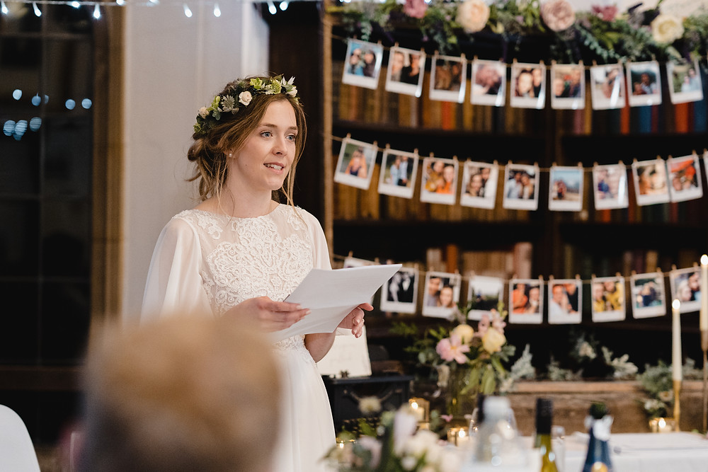 Wedding Speeches. Documentary Style Wedding Photographer Somerset. Professional Wedding Photographer