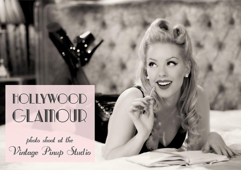 Heather Valentine Blog | Hollywood Glamour Pin Up Boudoir Photo Shoot with The Vintage Pinup Studio