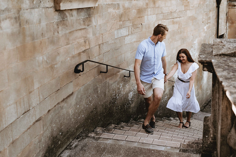 Engagement Photography Shoot in Bath. By Heather Bailey - Award Winning Wedding Photographer