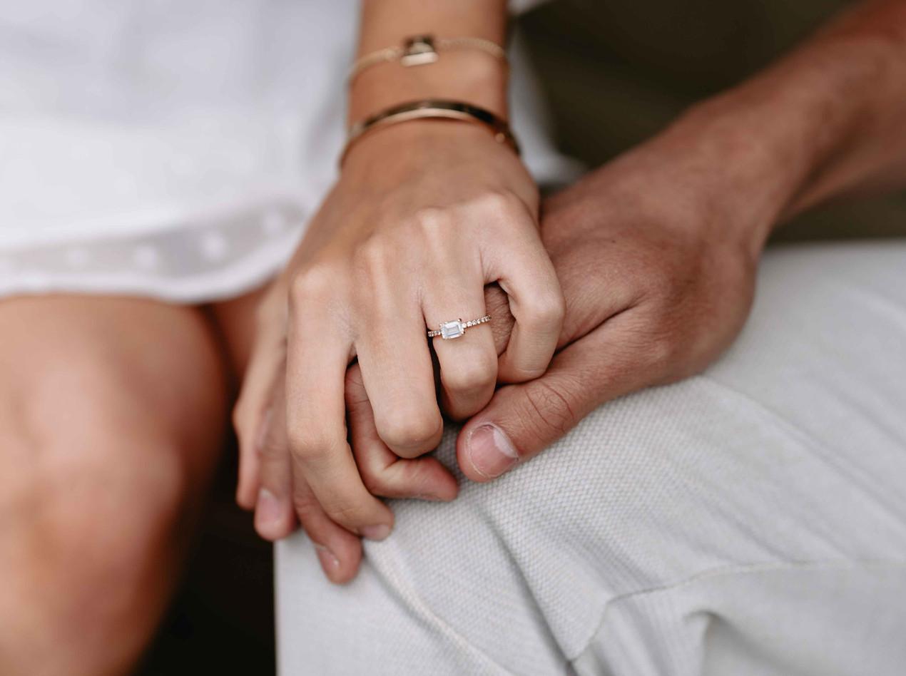 Ring Shot Engagement Photo Shoot in Bath Somerset - Wedding Photographer
