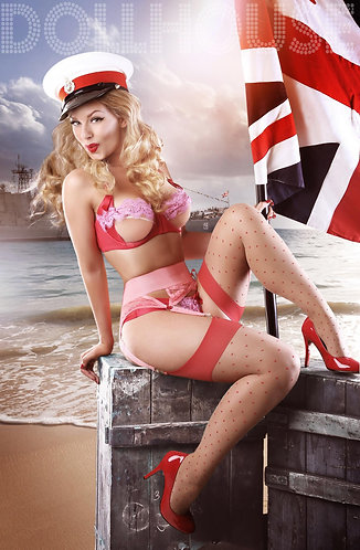 Military Pinup Doll