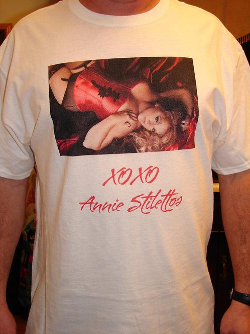 Annie Stilettos Boudoir T-Shirt