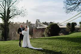Clifton Suspension Bridge Wedding Photo Ideas - Photography by Heather Bailey Award Winning Photographer