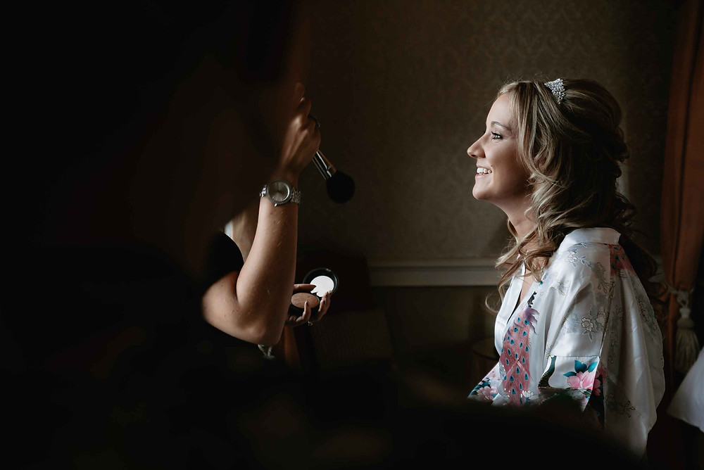 Bridal Prep Ideas - Wedding Photography at Clearwell Castle, Gloucestershire