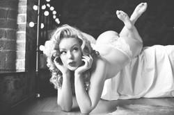 Heather Valentine Pinup Model