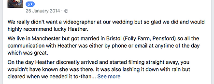 Recommended Wedding Photography and Videographer Somerset - Heather Bailey Photography and Film