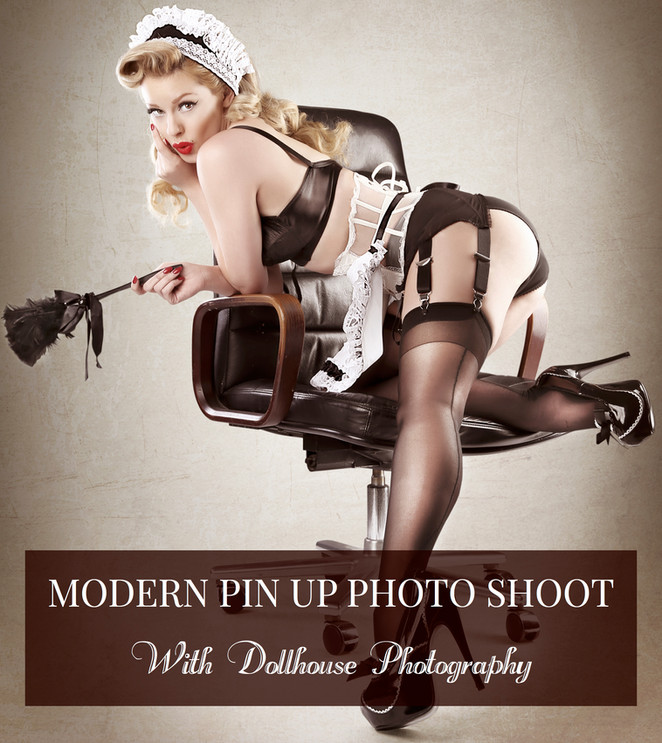 MODERN PIN UP SHOOT