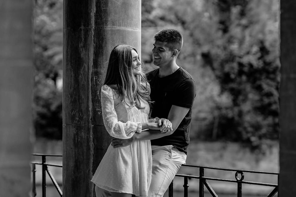 Pre-Wedding Engagement Photography Parade Gardens Bath, Somerset. By Award Winning Wedding Photographer