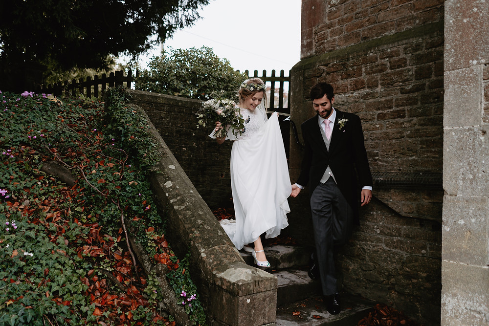 Wedding Portraits. Reportage Wedding Photography Somerset. Professional Wedding Photography