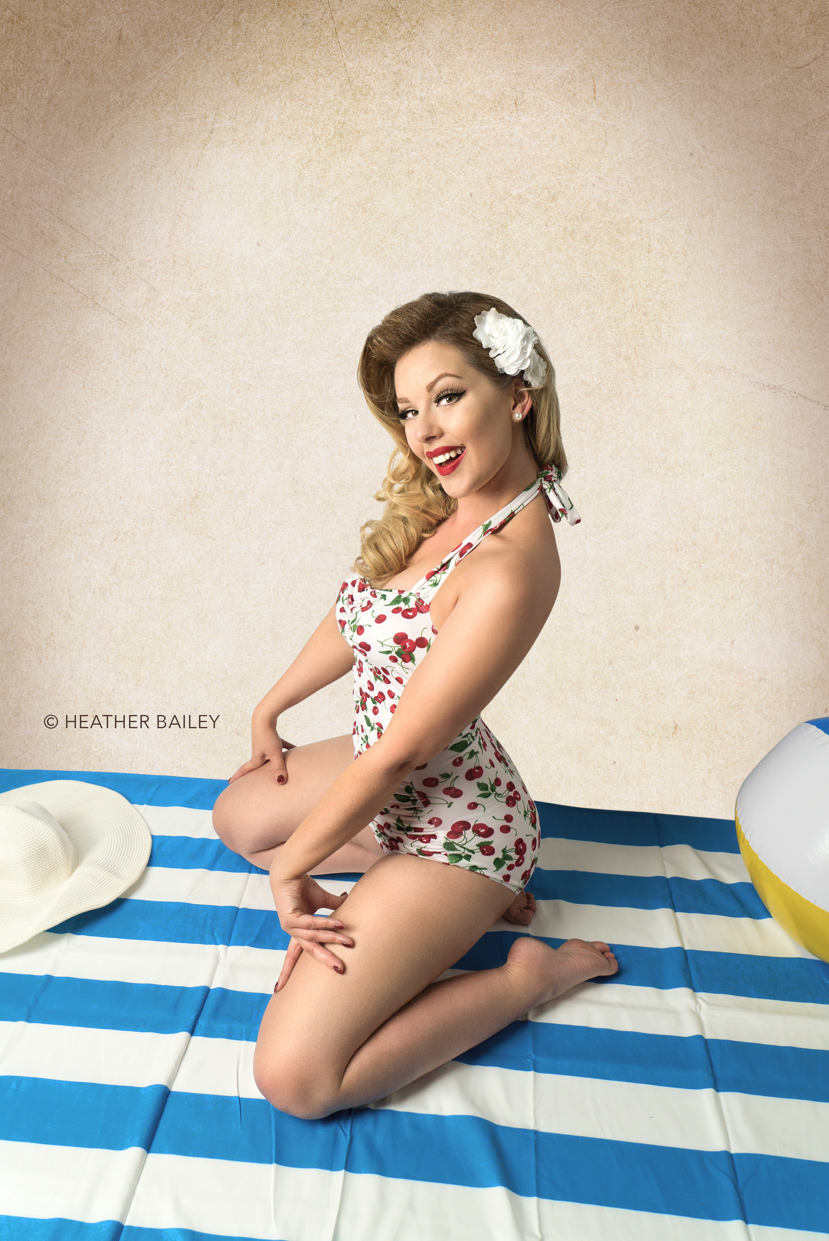 Bettie Page Pose Pinup
