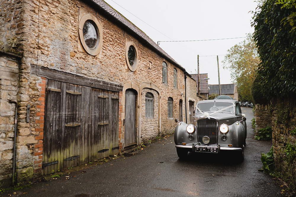 Somerset Wedding Photographer. Wedding Cars. Wedding Photography by Heather Bailey - Award Winning Wedding Photographer