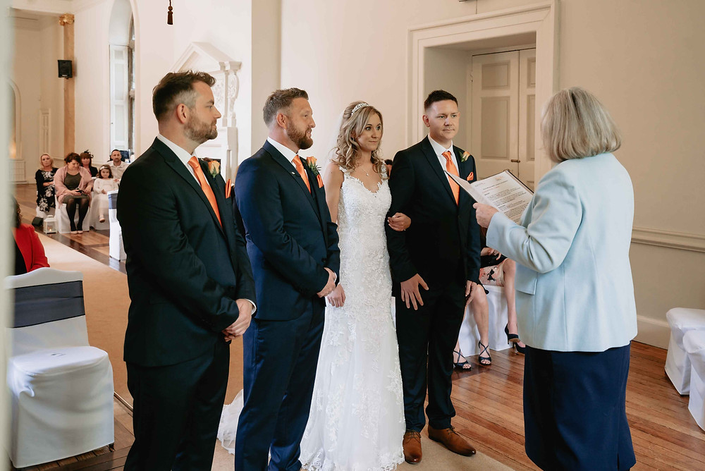 Wedding Photography at Clear well Castle Venue