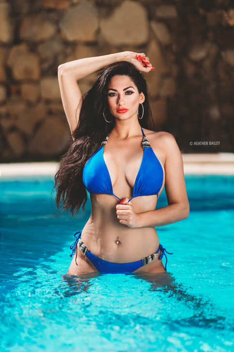 Katie Precious Model Ibiza Photo Shoot