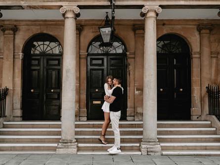Will + Amber | Engagement Photoshoot, Bath