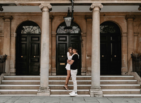 Will + Amber | Engagement Photoshoot, Bath
