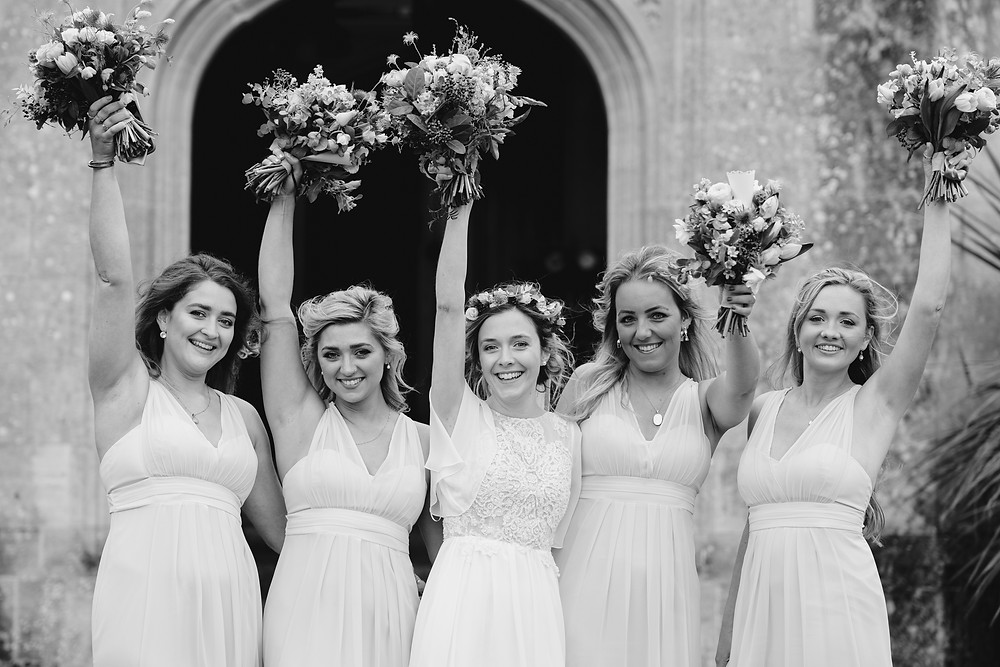 Confetti. Reportage Wedding Photography Somerset. Professional Wedding Photography
