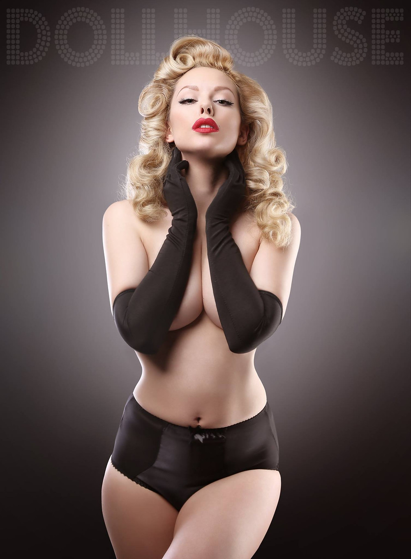 Heather Valentine Boudoir Goddess By DollHouse Photography