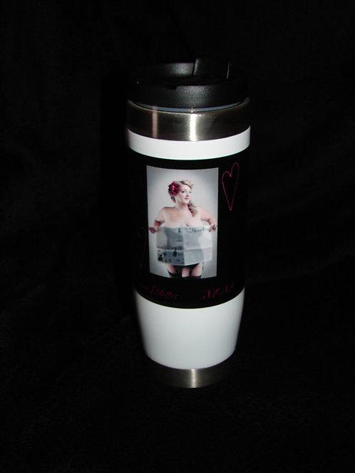 Annie Stilettos News Travel Mug