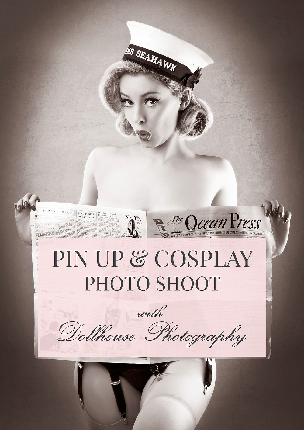 Model Blog Natuical Pin Up Heather Valentine Model by Dollhouse Photography