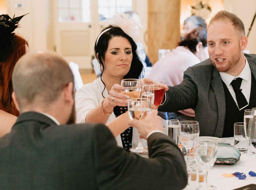 Wedding Breakfast at Clearwell Castle
