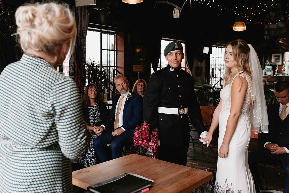 Wedding Photography Bristol. Wedding at the Mud Dock Cafe, Bristol